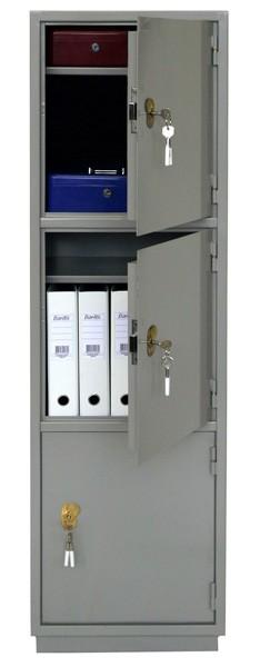 ПАКС КБ-033 Шкаф бухгалтерский, 3 отделения