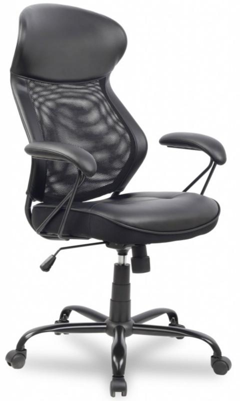 Кресло офисное College HLC-0370 сетка черная