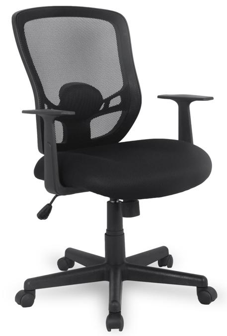 Кресло офисное College 420-1C-1 сетка черная