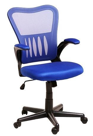 Кресло офисное College HLC-0658F сетка синяя
