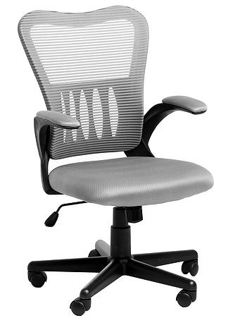 Кресло офисное College HLC-0658F сетка серая
