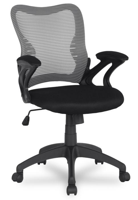 Кресло офисное College HLC-0758 сетка серая