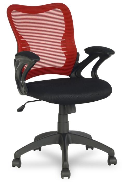 Кресло офисное College HLC-0758 сетка красная