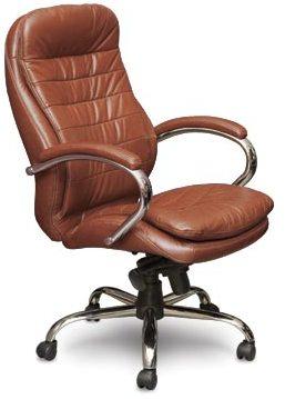Кресло руководителя CH-251 Dacota Дакота кожа коричневая