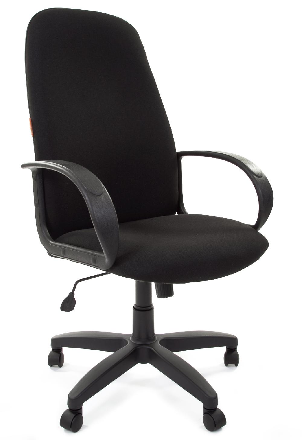 Кресло руководителя CH-279 ткань черный Chairman 279