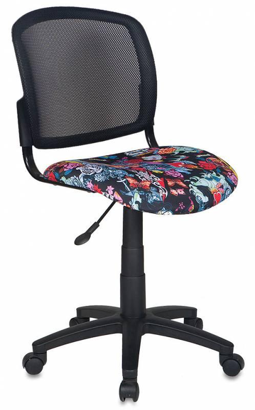 Кресло оператора CH-296 сиденье черный черепа Tattoo