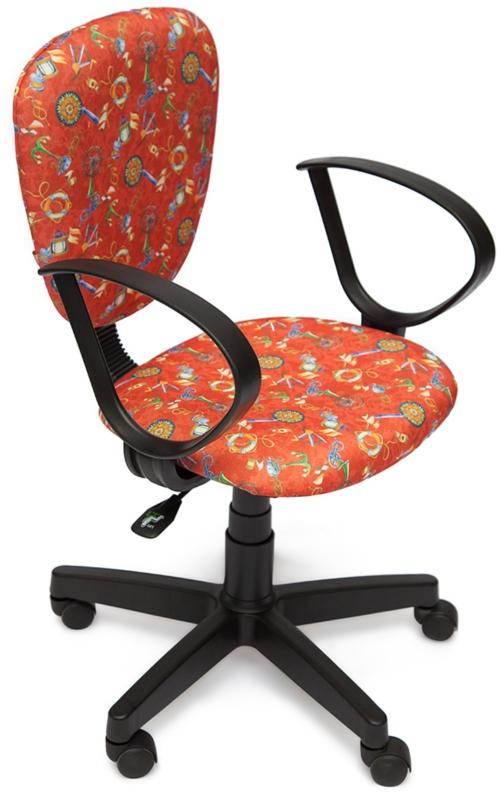 Кресло СН413 ткань Якоря на красном