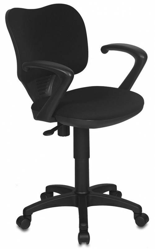 Кресло офисное CH-540AXSN-Low низкая спинка, черная ткань