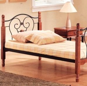 Tetchair Кровать 608 A одноярусная Single Bed 90*200
