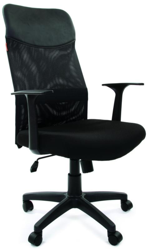 CH-610 Кресло офисное Chairman 610 LT черная сетка