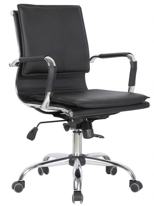 Кресло офисное XH-635B черная иск. кожа College