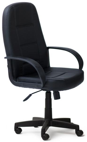 Кресло руководителя 747 экокожа черная