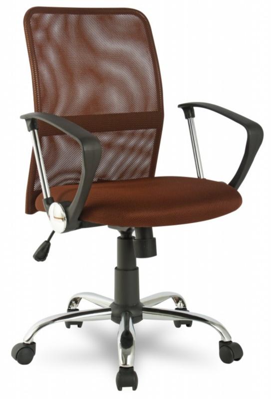 Кресло офисное College H-8078F-5 сетка коричневая
