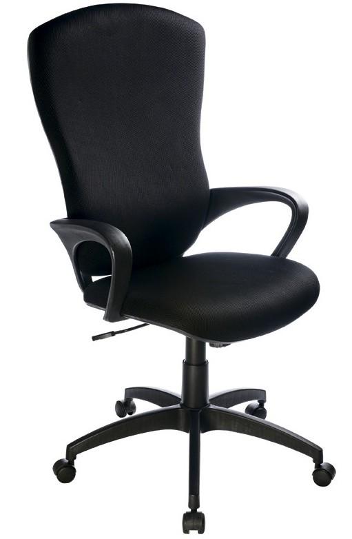 Кресло руководителя CH-818AXSN черная ткань