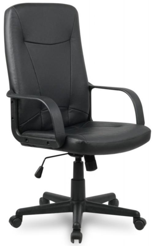 Кресло руководителя H-8365L-1 черная иск. кожа College