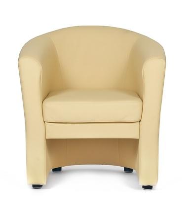 Кресло для отдыха Крон экокожа черная Терра 118