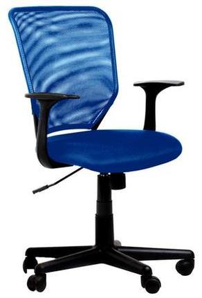 Кресло офисное College H-8828F сетка синяя