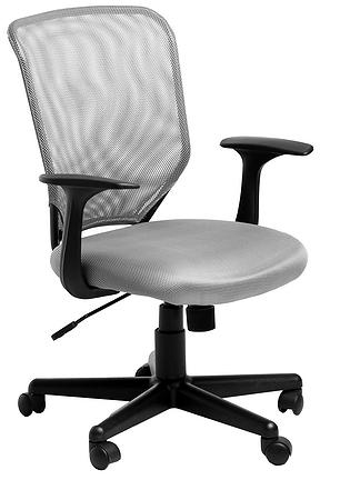 Кресло офисное College H-8828F сетка серая