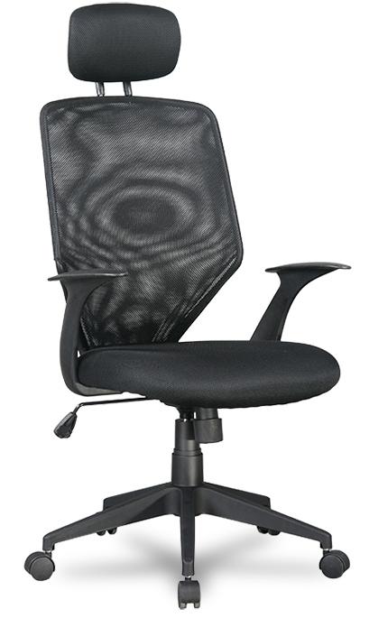 Кресло офисное College H-9060F-1 сетка черная