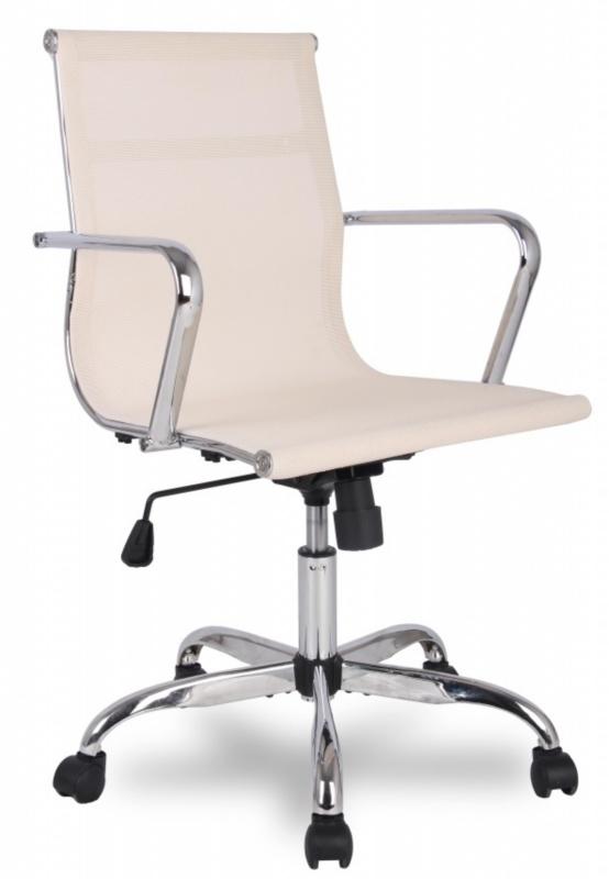 Кресло руководителя College H-966F-2 сетка бежевая
