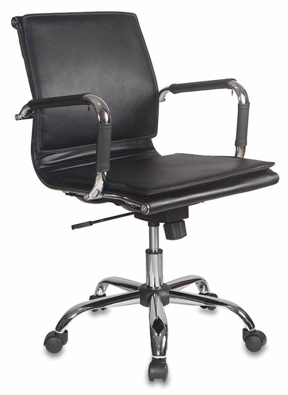 Кресло офисное CH-993-Low черная иск. кожа