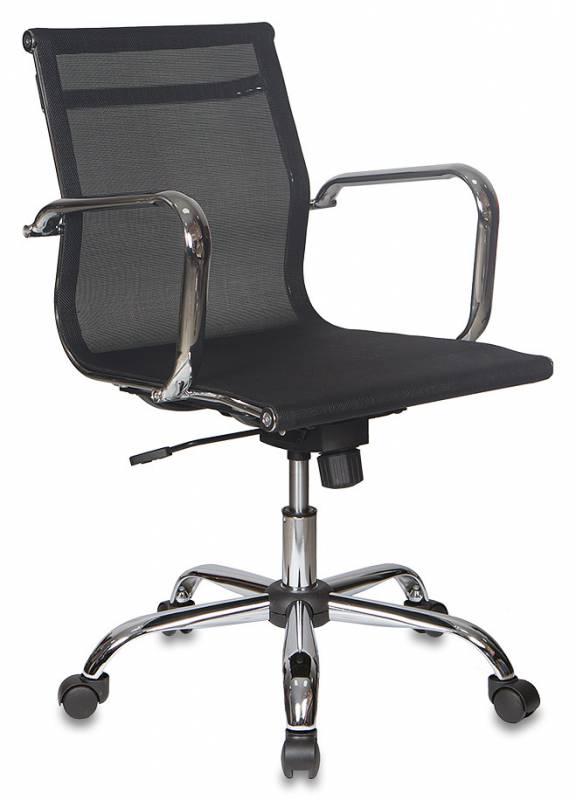 Кресло руководителя CH-993-Low черная сетчатая ткань