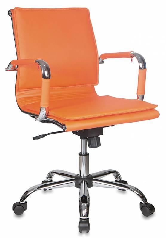 Кресло офисное CH-993-Low оранжевая иск. кожа