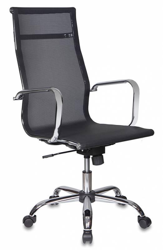 Кресло руководителя CH-993 черная сетчатая ткань