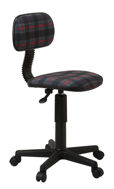 Кресло офисное CH-201NX клетка шотландка