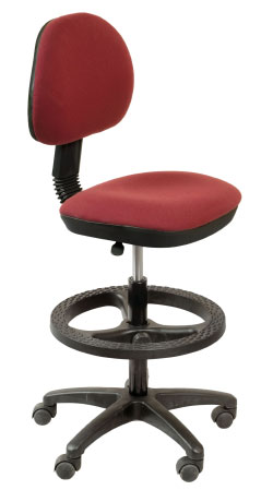 Кресло офисное CH-3181 ткань, упор для ног, высокий газлифт