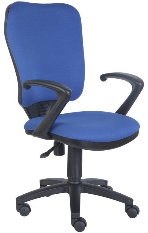 Кресло офисное CH-540AXSN синяя ткань