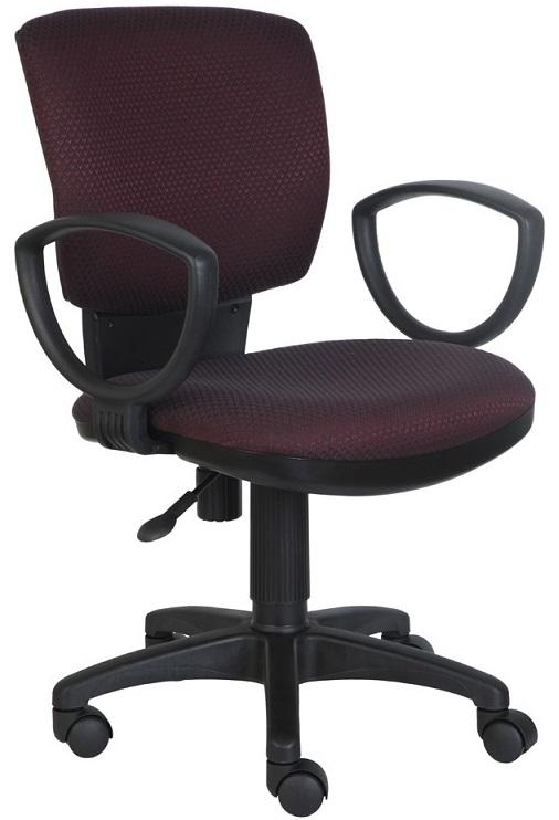 Кресло офисное CH-626AXSN бордово-черный ромбик
