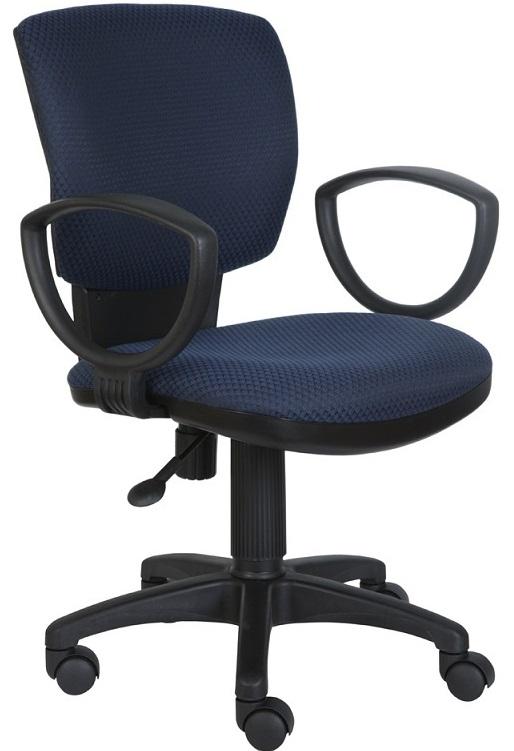 Кресло офисное CH-626AXSN сине-черный ромбик