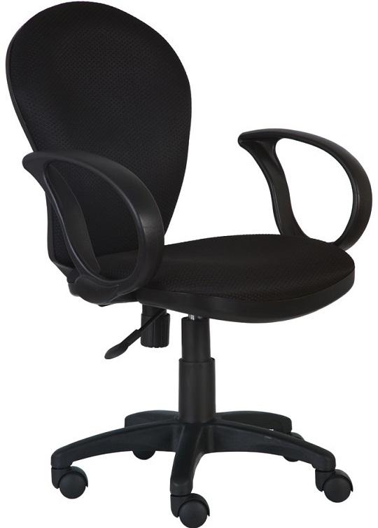 Кресло офисное CH-687AXSN черный пластик, черная ткань