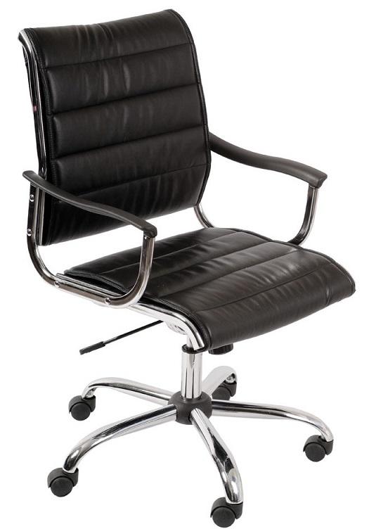 Кресло офисное CH-994AXSN черная иск. кожа