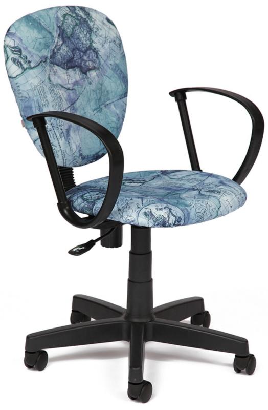 Tetchair Кресло СН413 ткань Карта на синем