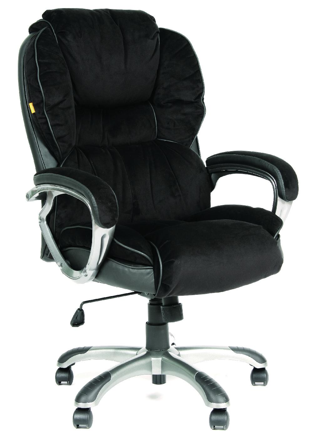 Кресло руководителя CH-434 черная ткань, Chairman 434