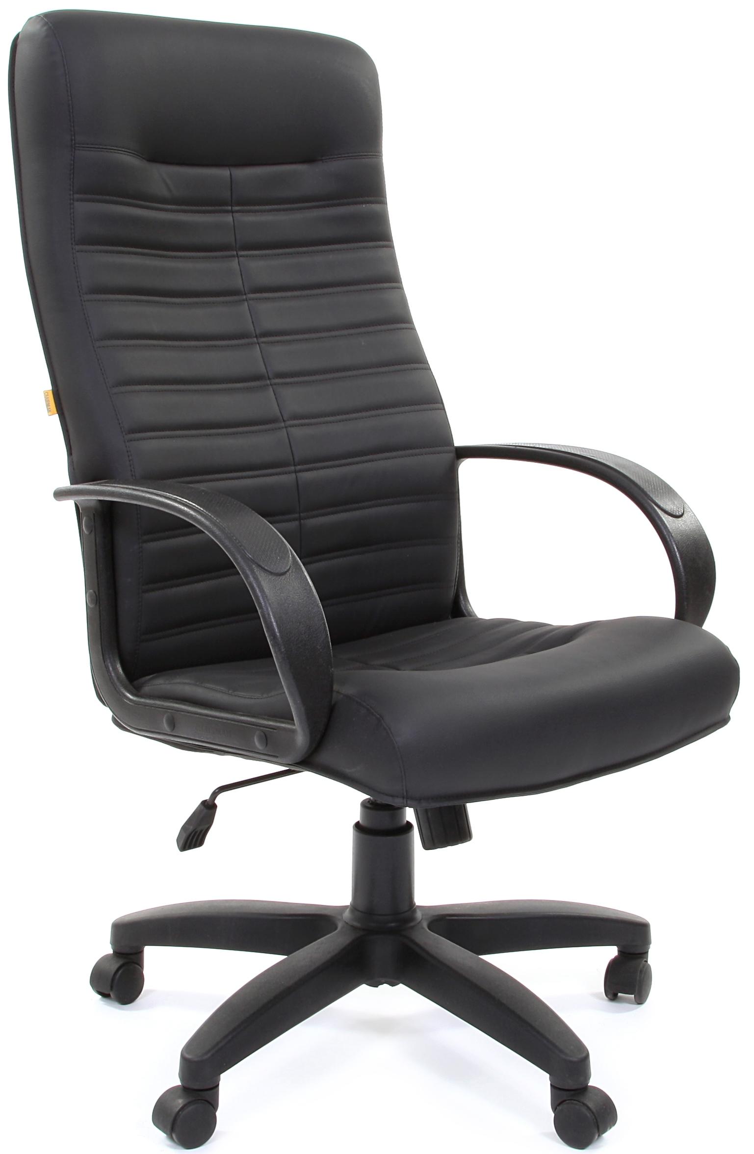 Кресло руководителя CH-480 LT экокожа черная, Chairman 480 LT