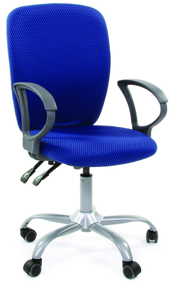 CH-9801 Кресло CHAIRMAN 9801 ткань синяя JP15-3