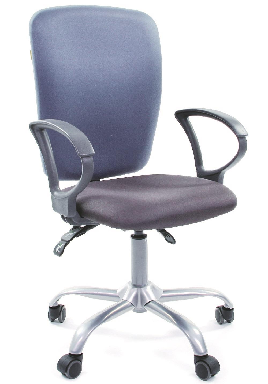 CH-9801 Кресло CHAIRMAN 9801 спинка синяя, сиденье серое