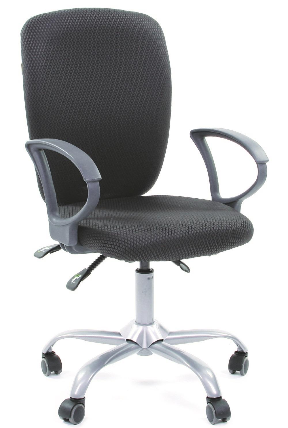 CH-9801 Кресло CHAIRMAN 9801 ткань серая JP15-1
