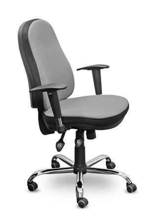 Кресло офисное Gaudi Гауди CH-291 ткань серая