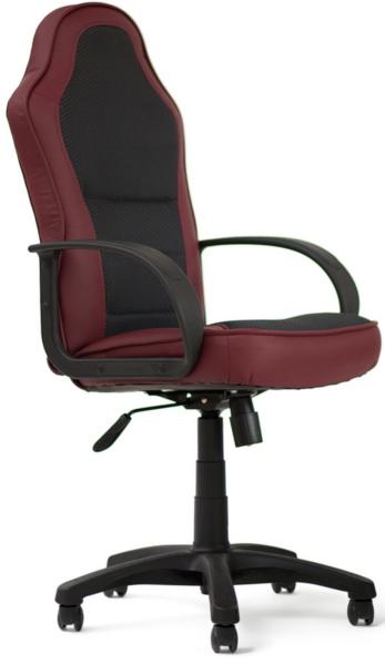 Кресло руководителя KAPPA Каппа, эко бордо+ткань серый