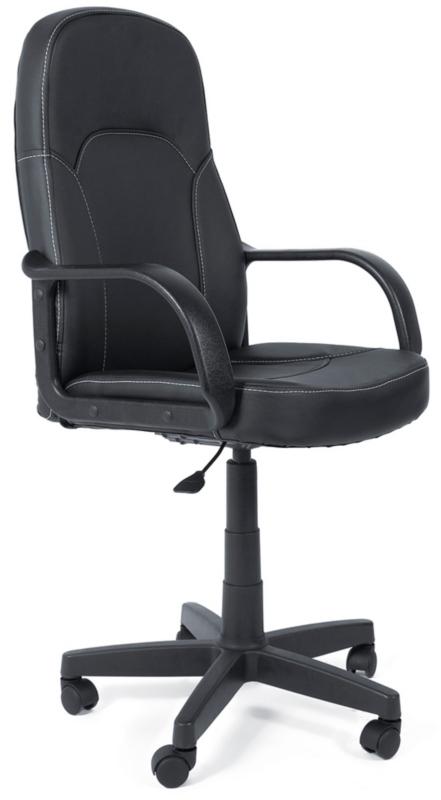 Кресло руководителя PARMA Парма черная экокожа