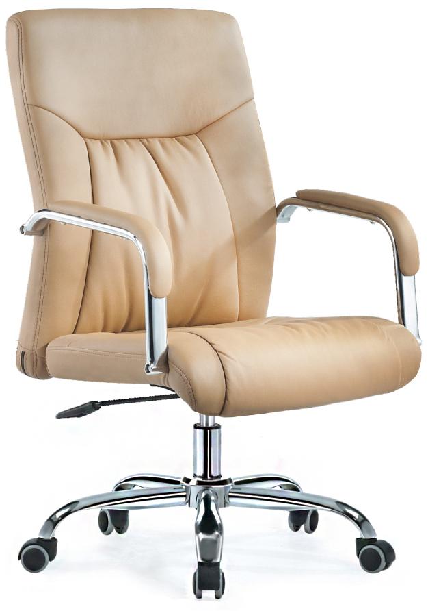 Кресло руководителя SB-A529 экокожа бежевая