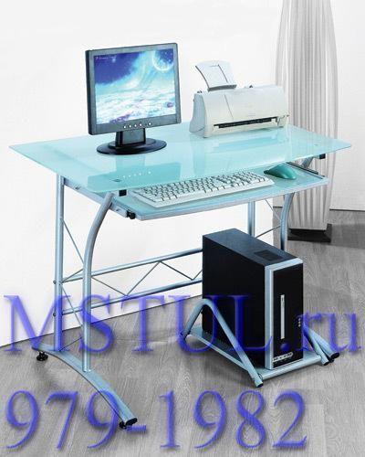 Стол компьютерный ST-F1018 матовое стекло