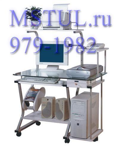 Стойка компьютерная ST-S240 серебро