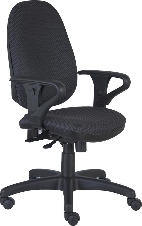 Кресло офисное T-612AXSN серая ткань JP-15-1