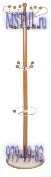 Tetchair Вешалка напольная XY-018 бук, белый