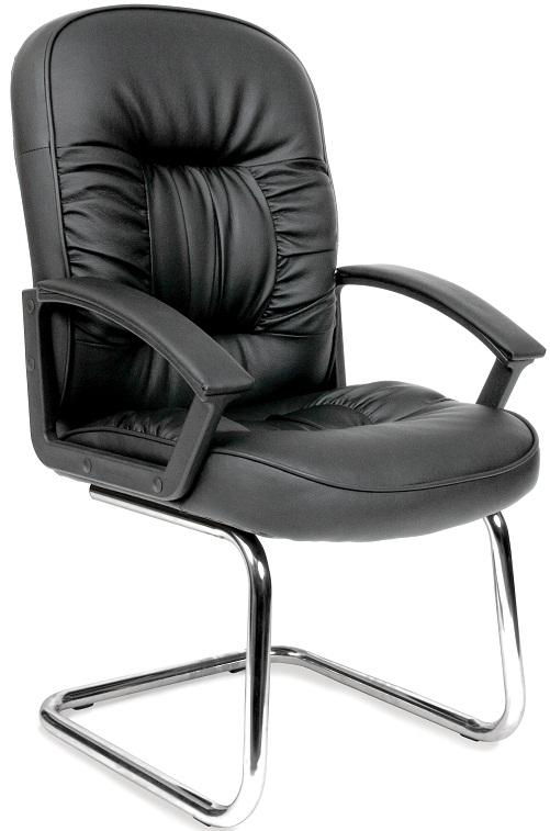 Кресло посетителя CH-418V экокожа, Chairman 418V
